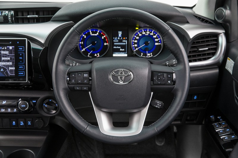 2015 Toyota HiLux 4x4 SR5 double cab INTERIOR SHOT DRIVERS SIDE