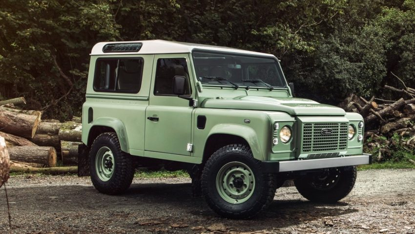 How about a secondhand green Defender 90 for $95,000?