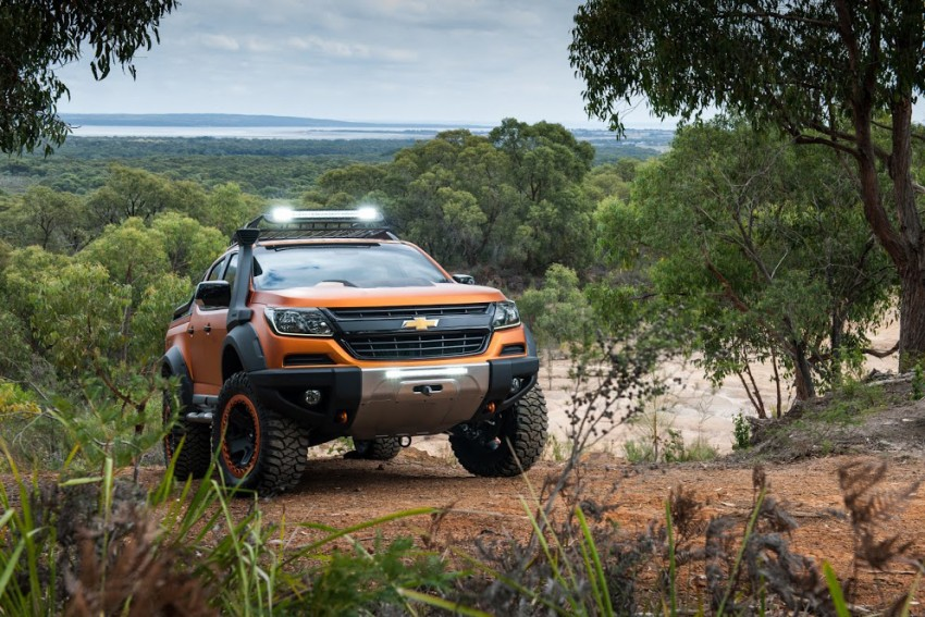 chevrolet colorado xtreme front