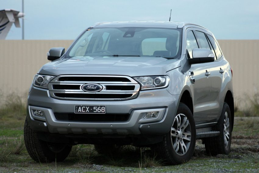 2016 Ford Everest Trend Front - FORD EVEREST REVIEW