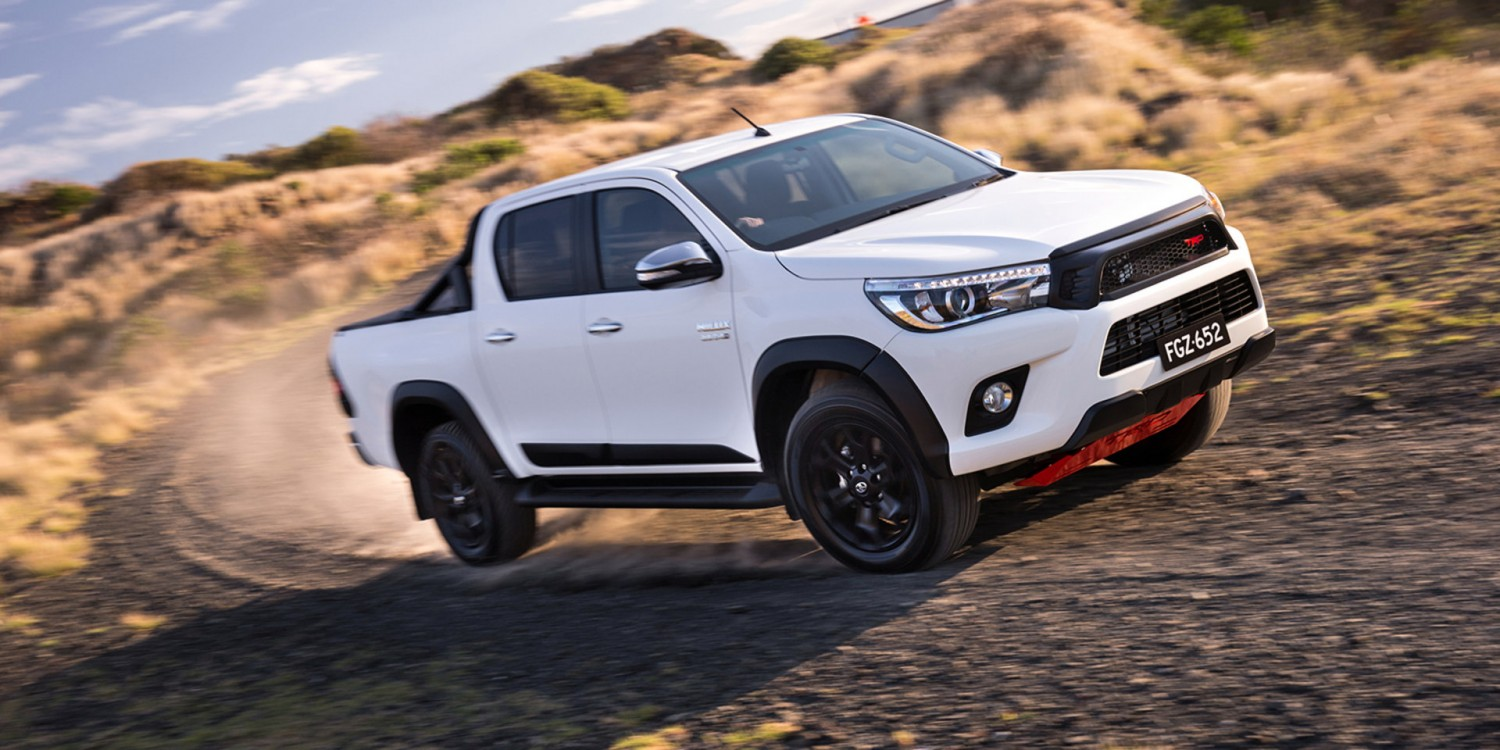 2017 Toyota HiLux TRD accessories package